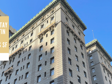 COVID Stay At Westin St. Francis SF