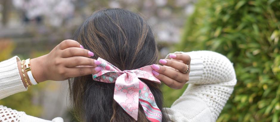 5 Ways to Style A Twilly/Mitzah