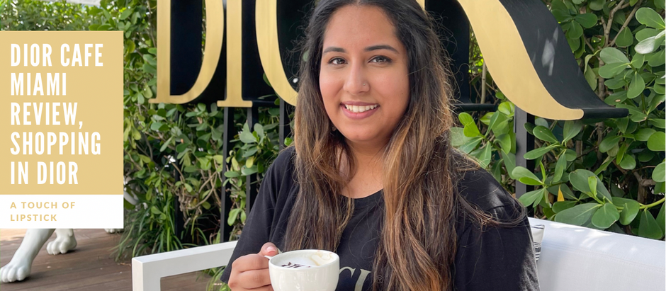 Dior Cafe Miami Review, Shopping In Dior