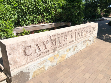 Wine Tasting At Caymus Vineyards
