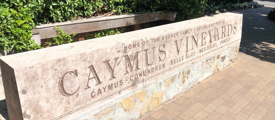 Wine Tasting At Caymus Vineyards