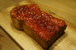 Strawberry Jam Toast