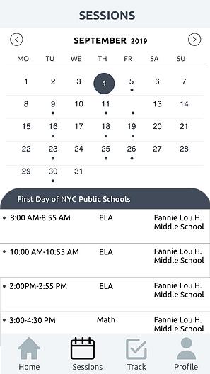 Wireframe Calendar
