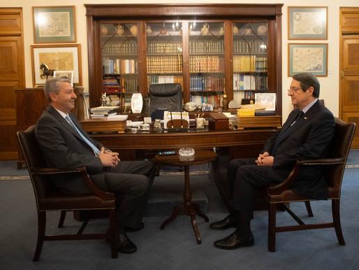 Γ. Λιλλήκας και ΠτΔ συζήτησαν για Κυπριακό, μεταρρυθμίσεις και βελτίωση εικόνας μας στο εξωτερικό