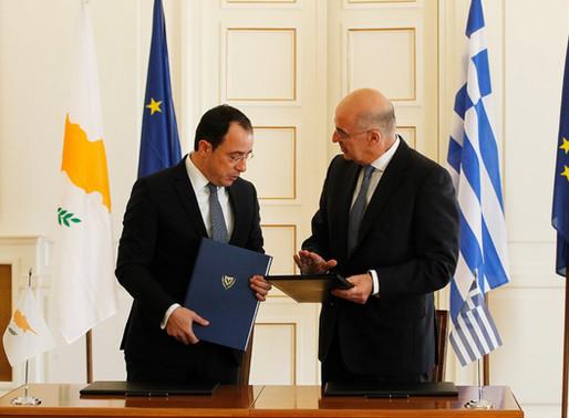 Συνάντηση Κύπριου ΥΠΕΞ με Έλληνα ομόλογο του
