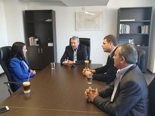 Συνάντηση Συμμαχίας Πολιτών με Υπ. Δήμαρχο Αγ. Νάπας κα. Ξύδια