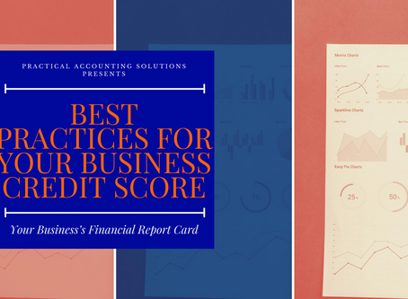 Best Practices for Your Business Credit Score