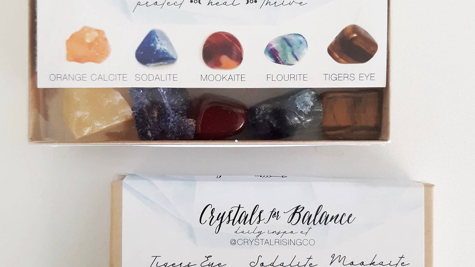 Crystals for balance