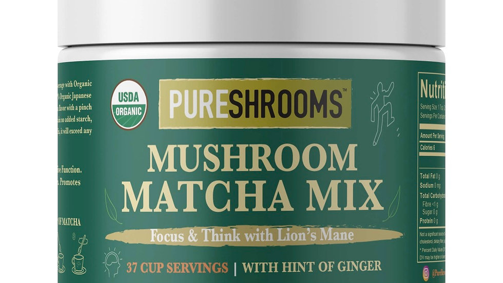Mushroom Matcha Mix