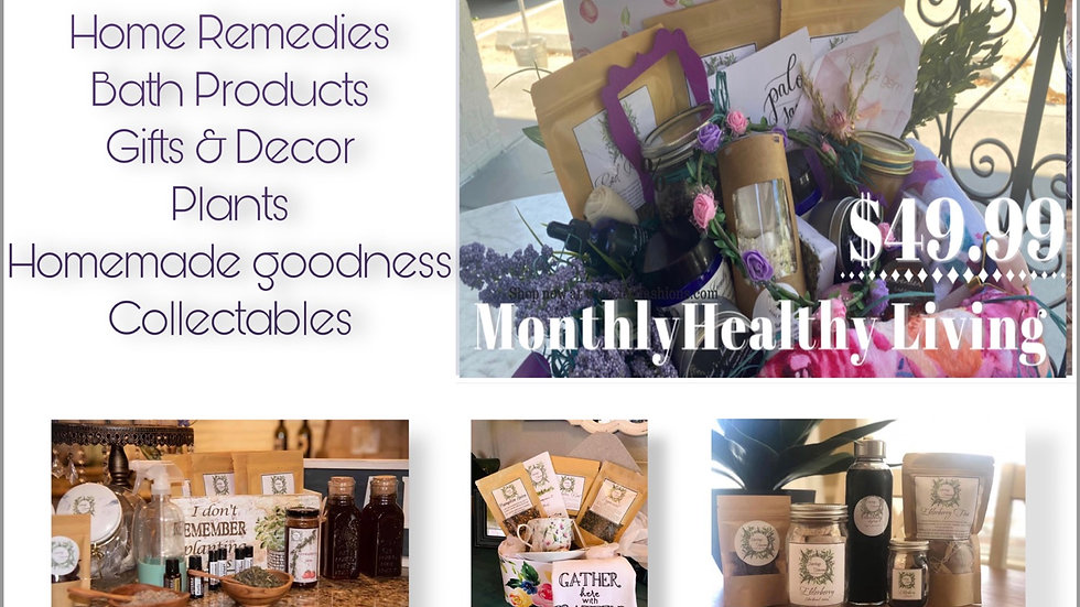 Monthly Healthy living Basket