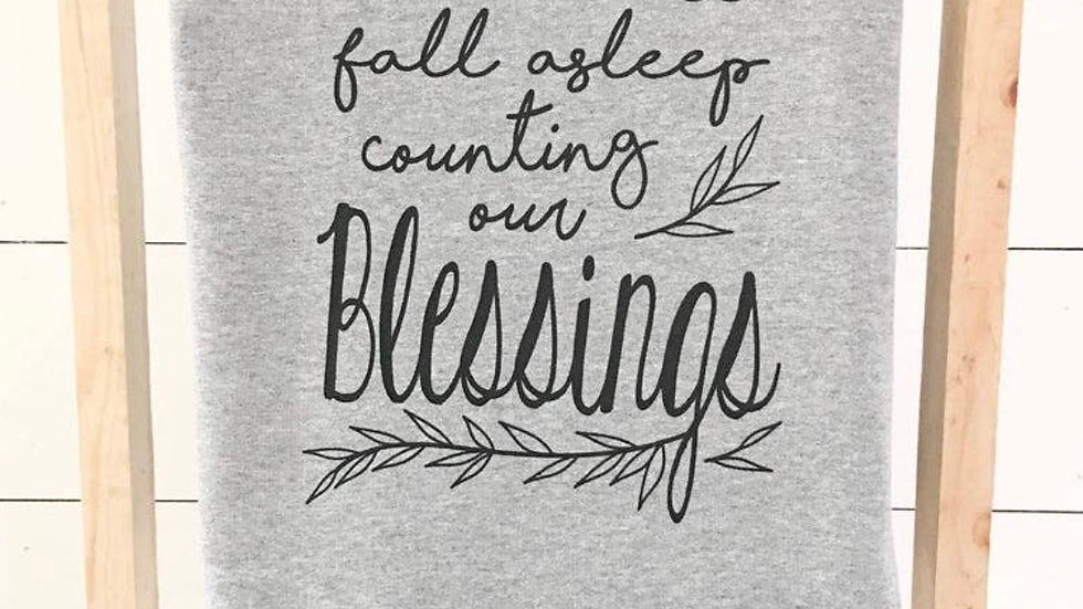 Count your Blessings Blanket