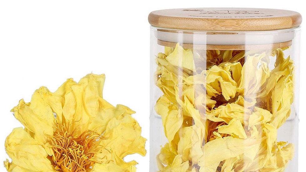 Flowering lotus tea