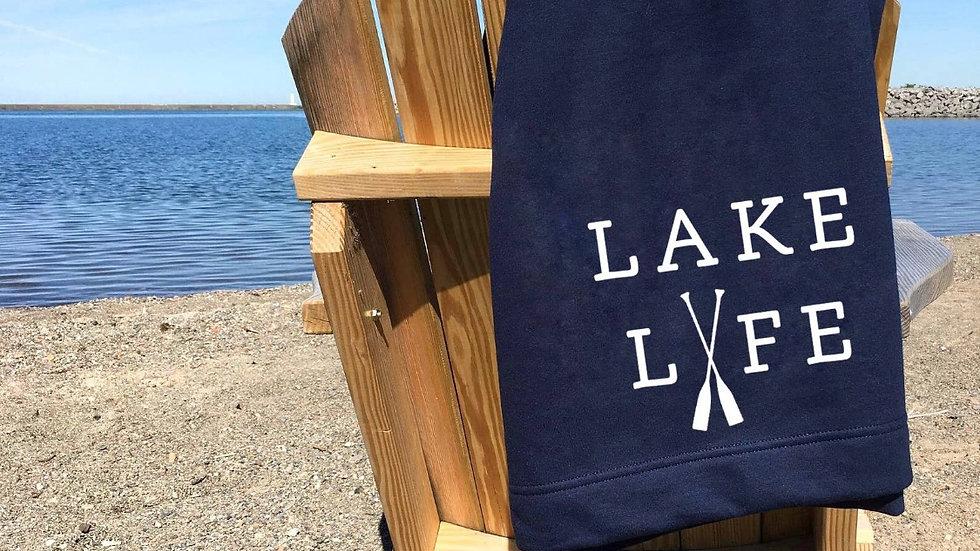 Lake Life blanket