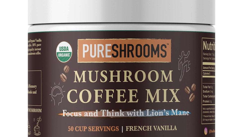 Mushroom Vanilla Coffee mix