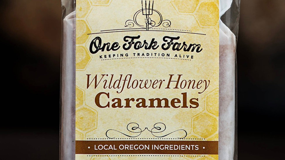 Wildflower Honey Caramels