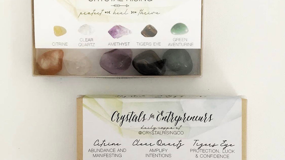 Entrepreneurs Crystal Collection