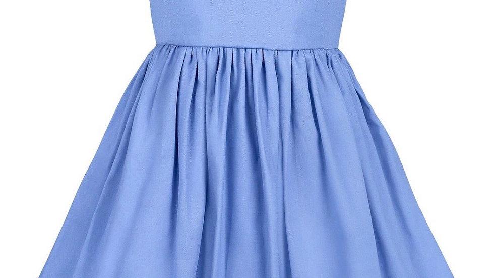 Blue Hydrangea girls dress