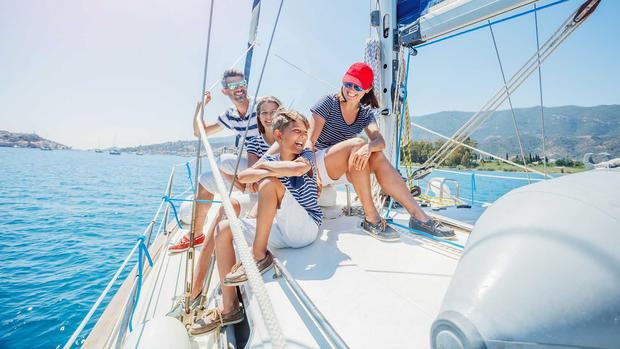 Sailing vacation  ibiza