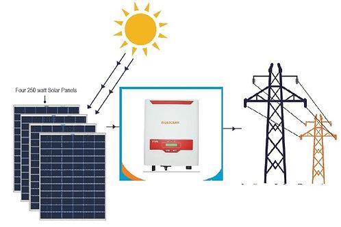 Indesolar Ongrid Solar Power Plant 5 kw