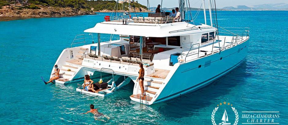 Six Reasons why you should rent catamaran in Ibiza and Formentera