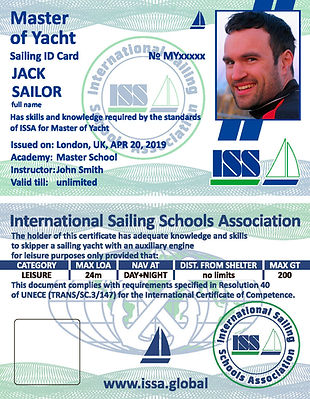 Yachtmaster Offshore license