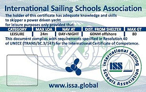 Yachtmaster Offshore certificate
