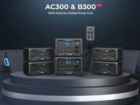 Bluetti  AC300 : An off-grid Solar Power Station with portability