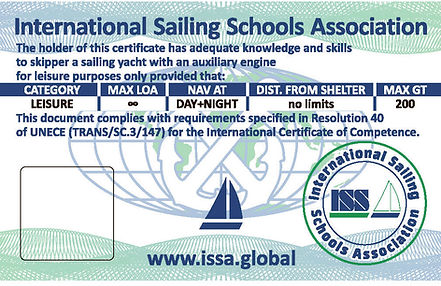 Yachtmaster Ocean License