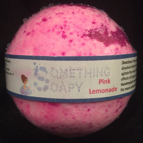 Pink Lemonade Bath Bomb