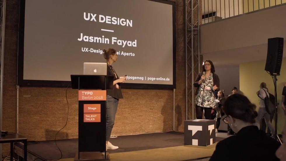 Page Job Talks - UX Design