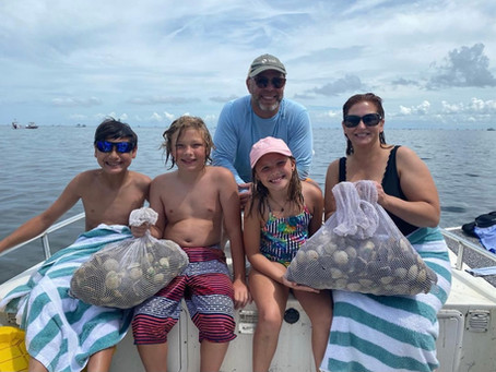 Crystal River Scallop Report 07.01.2021