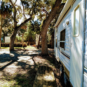 Waterfront RV Resort and Campground in Ozello, Crystal Riv