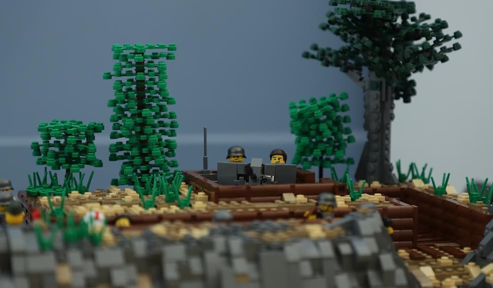lego dday normandy ww2 history landung débarquement US soldiers wehrmacht utah beach