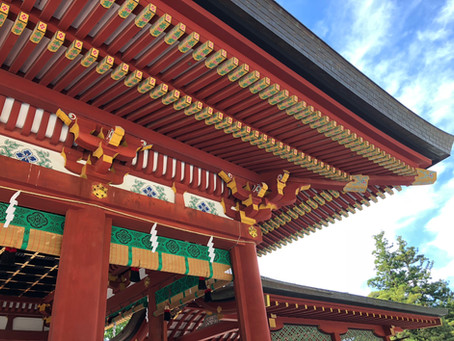 The most popular - Hachimangu Shrine