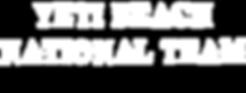 Yeti Beach National Team Top Secret Font