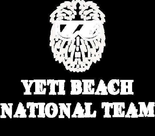 Yeti Beach National Team Website logo wh