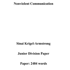 Junior Historical Paper - Krigel Armstrong