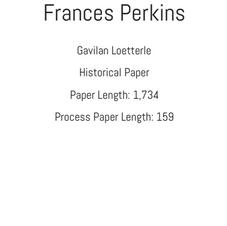 Junior Historical Paper Loetterle