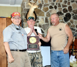 Service Award Col Bob Maywhort