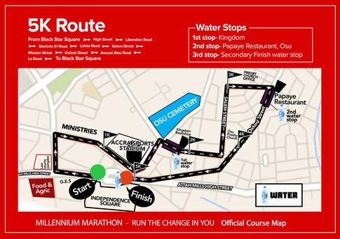 5k Race Route
