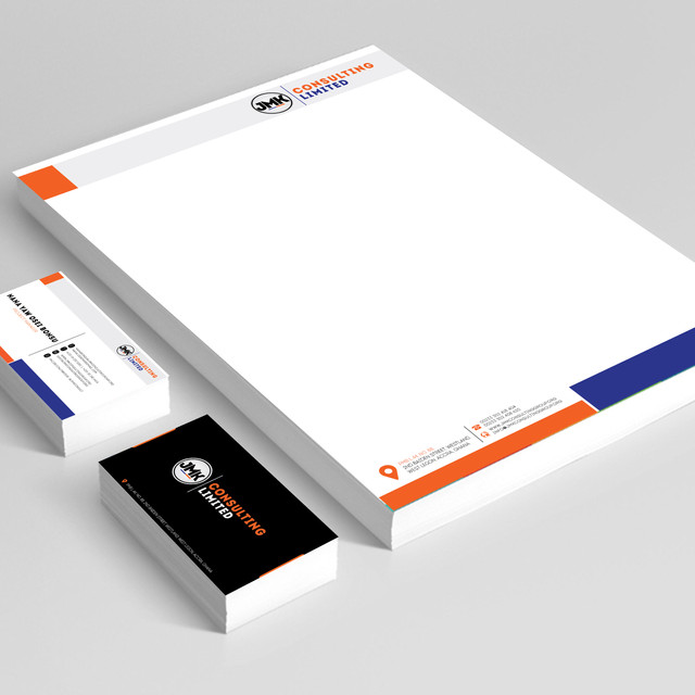 JMK Consulting; Letterhead & Call Card