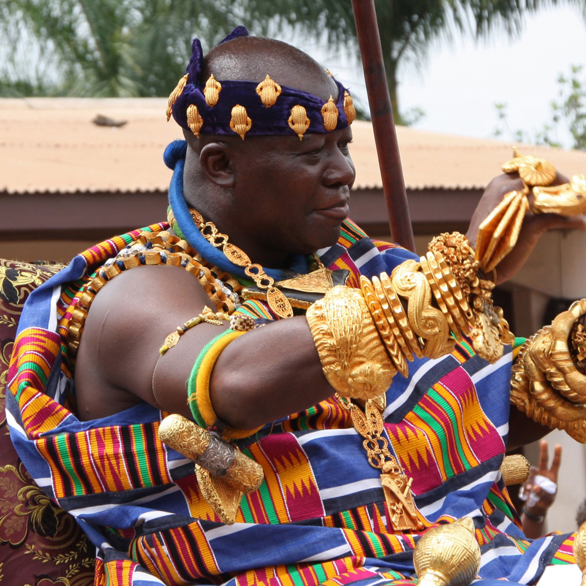 His Royal Majesty Otumfuo Osei Tutu II