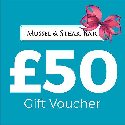 £50 Restaurant Gift Voucher