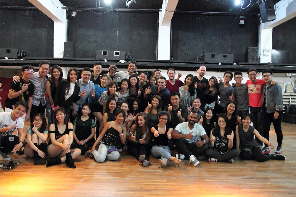Brazilian Zouk Workshops with Alex & Mathilde