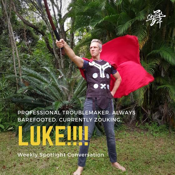 Weekly Spotlight Conversation with Luke B.