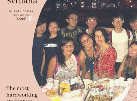 Weekly Spotlight Conversation with Svitlana N. (Lana)