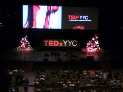 TED x YYC Stage 2013