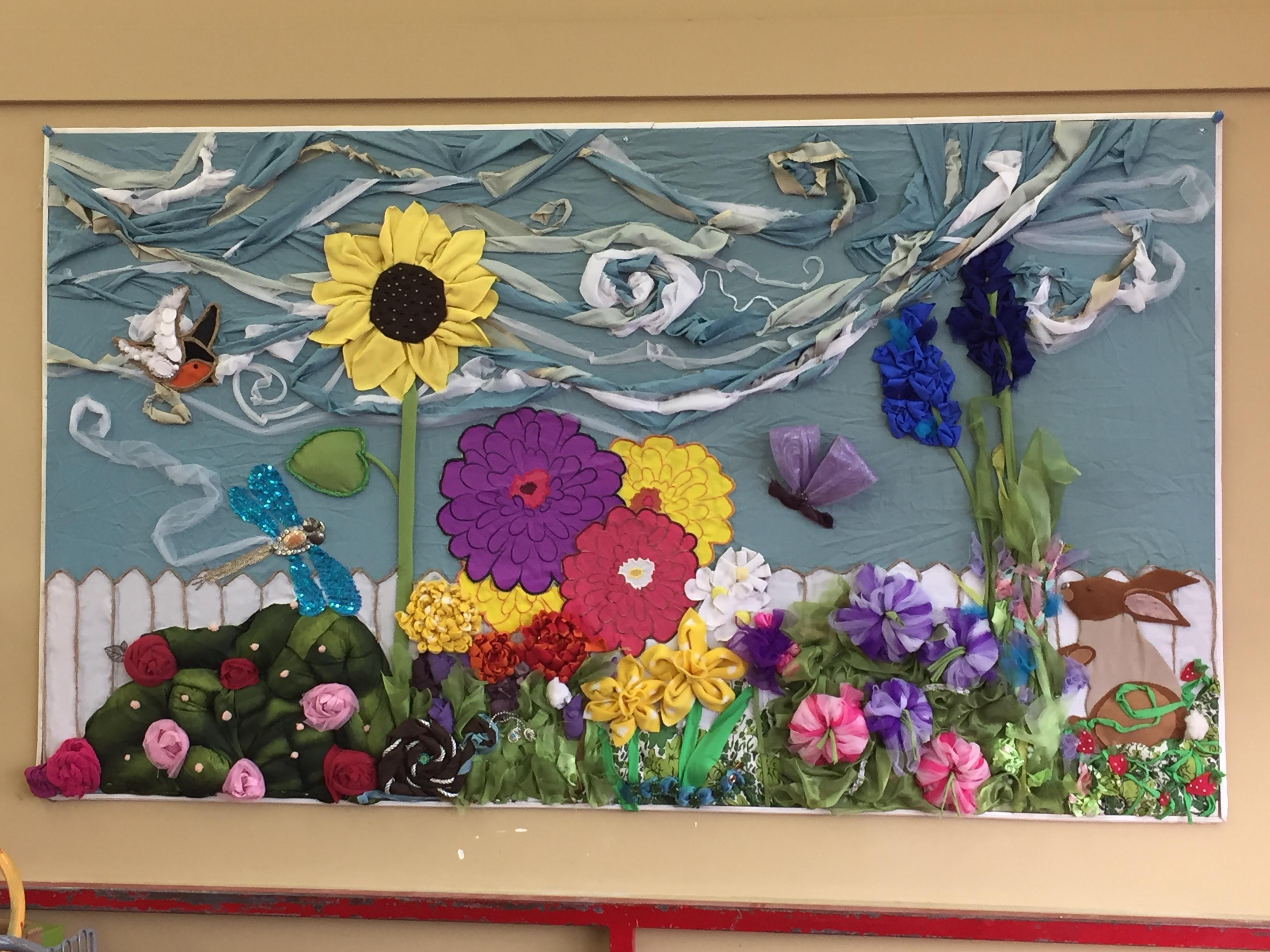 Garment Garden Mural