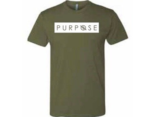 Purpose Tee Forest Green