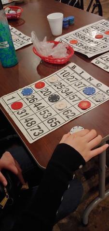 Playing Bingo!